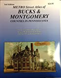 img - for Metro Street Atlas of Bucks/Montgomery Counties book / textbook / text book
