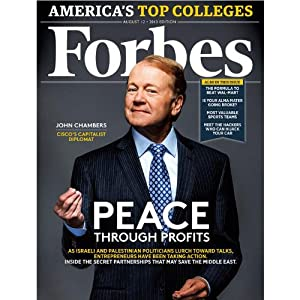 Forbes, July 29, 2013 Periodical