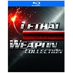 Lethal Weapon Collection (Lethal Weapon / Lethal Weapon 2 / Lethal Weapon 3 / Lethal Weapon 4) [Blu-ray]