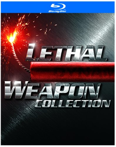 Cover art for  Lethal Weapon Collection (Lethal Weapon / Lethal Weapon 2 / Lethal Weapon 3 / Lethal Weapon 4) [Blu-ray]