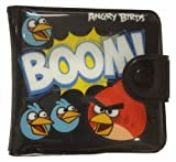 Angry Birds Bifold Slim Coin Pouch, Purse Wallet 2 Fold, Card Phone Case Bag for kids (Black)
