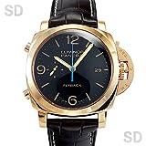[パネライ]PANERAI腕時計 ルミノール 1950 3デイズ クロノフライバック オロロッソ ブラック Ref:PAM00525 メンズ [中古] [並行輸入品]
