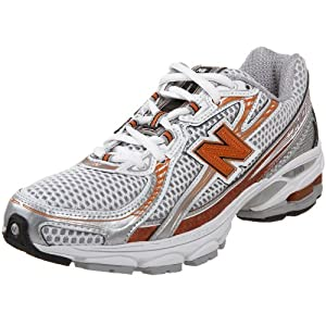 New Balance Women's Wr740So White/Silver/Orange Trainer Wr740So 3.5 UK