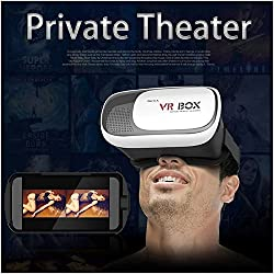 VR Headset/Virtual Reality Gear comes with 42mm lenses with Improved Independent Individual Lens adjustment , 100- 110 degree FOV and inspired by Google Cardboard, Oculus Rift and Samsung Gear - VR Glasses works with leading android, iOS based smartphone brands like Motorola, Samsung, Xiaomi, ZTE, HTC, Nexus, iphone, Micromax, Lenovo