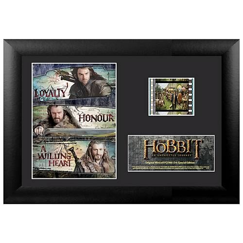 Filmcells Hobbit an Unexpected Journey Minicell Framed Art, S4 - 1