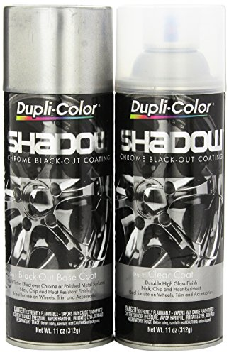 Dupli-Color SHD1000 Shadow Chrome Black-out Coating Kit (Chrome Wheel Touch Up Paint compare prices)