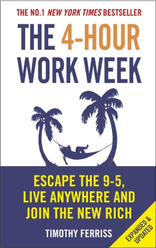 Buchseite und Rezensionen zu 'The 4-Hour Work Week: Escape the 9-5, Live Anywhere and Join the New Rich' von Timothy Ferriss