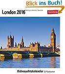London 2016: Sehnsuchtskalender, 53 P...