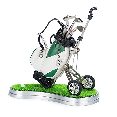 Mini desktop golf bag