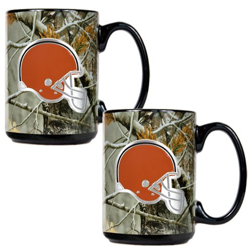 Cleveland Browns 2Pc Open Field Coffee Mug Set