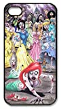 icasepersonalized Personalized Protective Case for iPhone 4/4S - Disney Princess Zombies