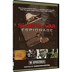 Secrets of War - Espionage - 10 Episodes