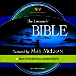 The Listener's Bible NIV: The Complete Bible, Genesis to Revelation | Fellowship for the Performing Arts
