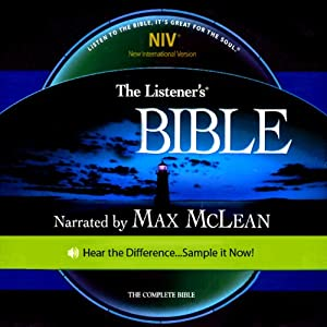 The Listener's Bible NIV: The Complete Bible, Genesis to Revelation | [ Fellowship for the Performing Arts]