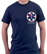 FDNY EMS T-SHIRT W/STAR OF LIFE