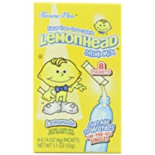 Lemonhead Drink Mix, 8 Packets (Pack of 12)