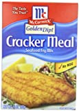 McCormick Golden Dipt Seafood Fry Mix, Cracker Meal, 10-Ounce Unit (Pack of 12)