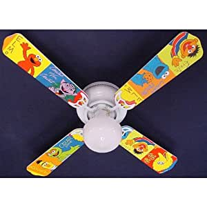 Amazon Ceiling Fan Designers Sesame Street Elmo Big