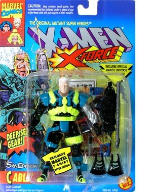 X-Men: X-Force > Cable #5 Action Figure