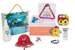 Caja canastilla de regalo para bebés niña marca 5mimitos - BebeHogar.com