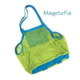 Magetefia Sand Away Carry All Beach Mesh Bag Tote (Swim, Toys, Boating. Etc.)-xl Size