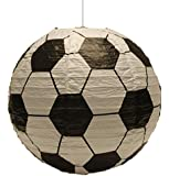 Spearmark football - abat-jour pour suspension lanterne en papier