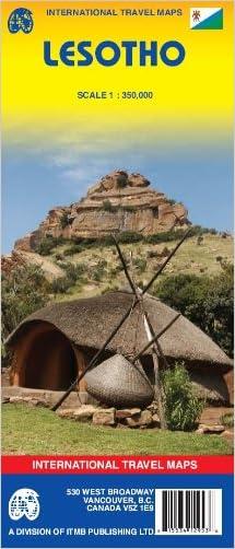 Lesotho 1:350,000 Travel Reference Map (International Travel Maps)