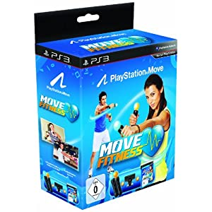 Playstation Move Starter Pack inkl. Move Fitness