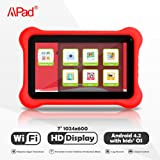 Apad® 7-inch Dual-Core, Dual Camera Kids Tablet with Free Cloud Parental Control Service and Kids Apps(Gift for Kids)