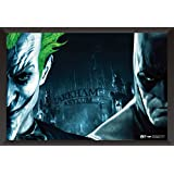 Hungover Batman And Joker Poster Arkham Asylum Artwork Special Paper Poster (12x18 Inches)