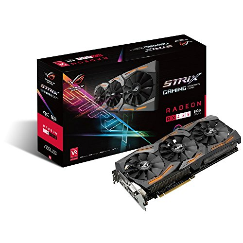 ASUS ROG STRIX Radeon Rx 480 8GB OC Edition DP 1.4 HDMI...