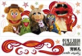 The Muppets Movie Collage Wall Decal 24.5x43