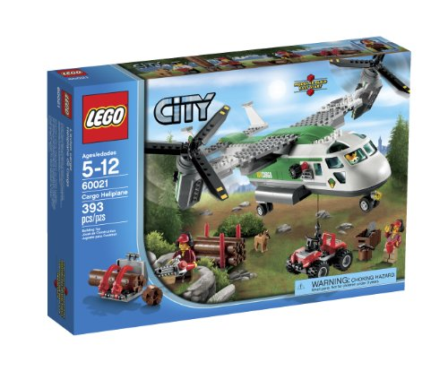 Lego City 60021 Cargo Heliplane Toy Building Set