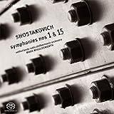 ショスタコーヴィチ : 交響曲 第1番&第15番 (Shostakovich : Symphonies Nos 1 & 15 / Netherlands Radio Philharmonic Orchestra , Mark Wigglesworth) [Hybrid SACD] [輸入盤]