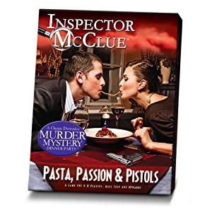 Paul Lamond Murder Mystery Dinner Party Game with CD, Pasta Passion and Pistols
