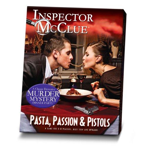 """Paul Lamond - Gioco di investigazione con CD """"Pasta Passion and Pistols"""" [Lingua Inglese]"""