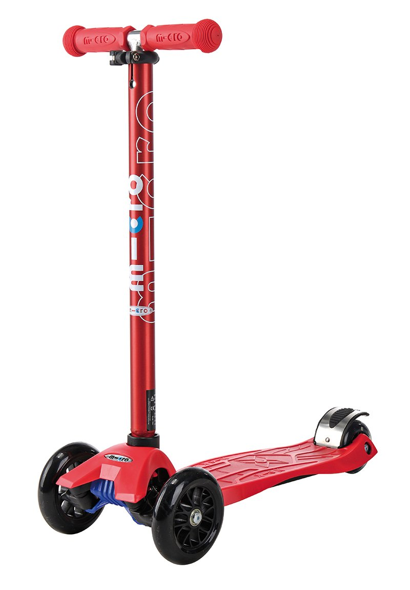 maxi micro kick scooter metallic red limited edition ebay. Black Bedroom Furniture Sets. Home Design Ideas