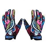 Men's Sports Gloves Mountain Bike Gloves Full Finger Bicycle Gloves Winter---M
