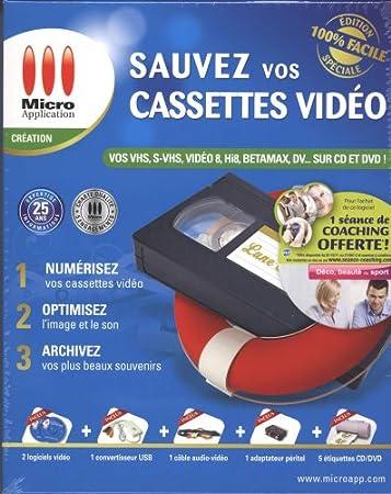 Sauvez vos cassettes vidéo - coffret deluxe