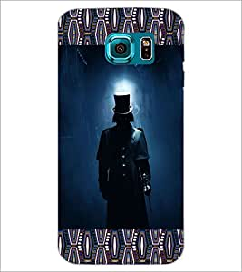 PrintDhaba Devil Hunter D-4096 Back Case Cover for SAMSUNG GALAXY S6 (Multi-Coloured)