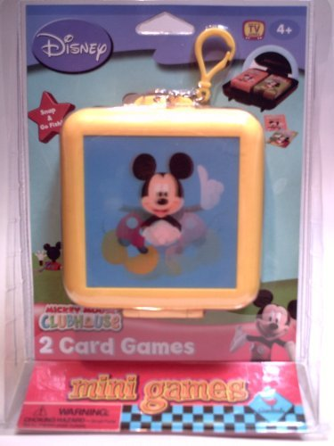 Mickey Mouse Clubhouse 2-Card Mini Games