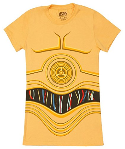Star Wars I Am C-3PO Juniors Costume T-Shirt