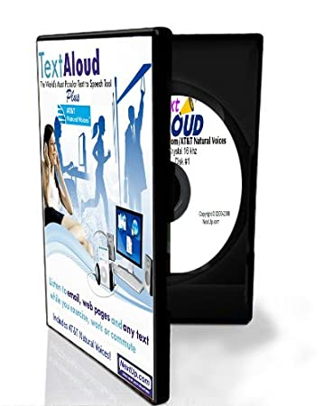 TextAloud With AT&T Natural Voices (Windows Software)