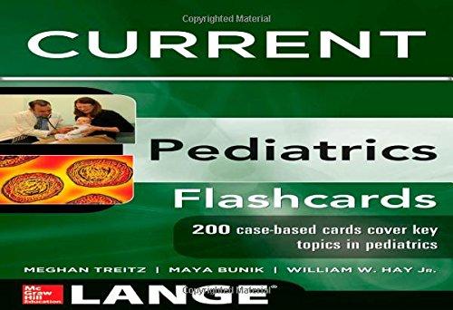Lange Current Pediatrics Flashcards (Lange Flashcards) front-985402