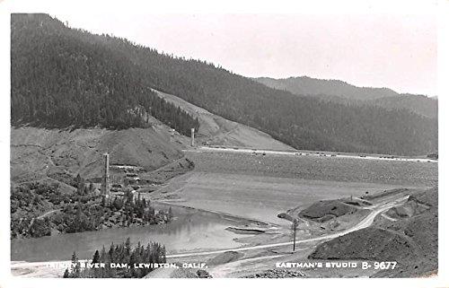 Trinity River Dam Lewiston, California postcard (Trinity River Ca compare prices)
