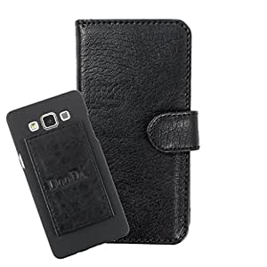 DooDa PU Leather Wallet Flip Case Cover With Card & ID Slots For iBall iBall Cobalt Oomph 4.7D - Back Cover Not Included Peel And Paste