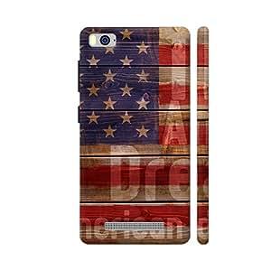 Colorpur The American Dream Designer Mobile Phone Case Back Cover For Xiaomi Mi 4i   Artist: Giordano Aita