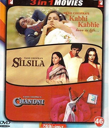 #2: Kabhi Kabhie/Silsila/Chandni