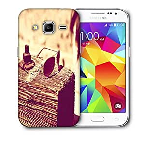 Snoogg Girl With Glares Printed Protective Phone Back Case Cover For Samsung Galaxy Core Plus G3500