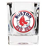 Boston Red Sox Official MLB 2 fl. oz. Square Shot Glass by Great American Products